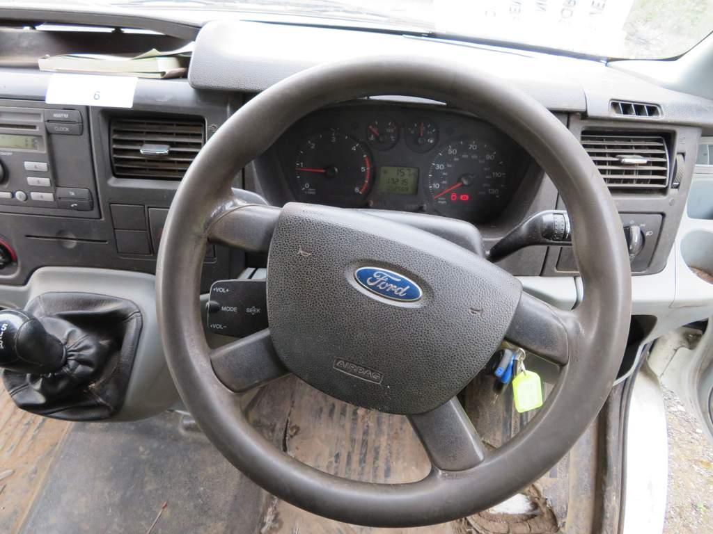 Lot 16 - 2009 Ford Transit T350L Double Cab Tipper - FX09 YDJ
