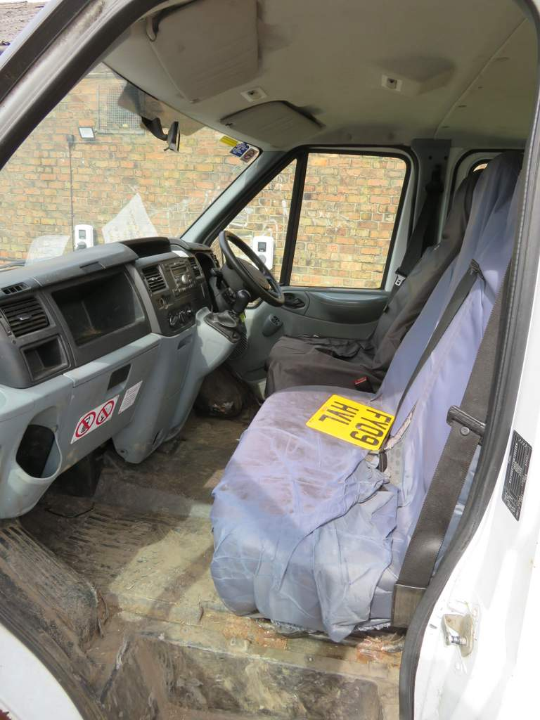 Lot 15 - 2009 Ford Transit T350L Double Cab Tipper - FX09 HVL