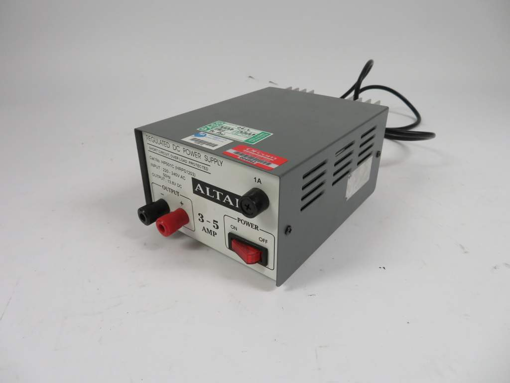 Altai Hp001c 3 5 Amp Regulated Dc Power Supply 4962 Lot 164