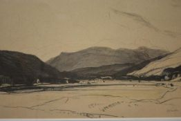 Sir David Young Cameron R.A., R.S.A., R.S.W., (Scottish, 1865-1945), Balquhidder, signed lower