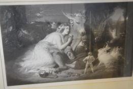After Sir Edwin Henry Landseer R.A. (1802-73), A Midsummer Night's Dream, signed E. Landseer in