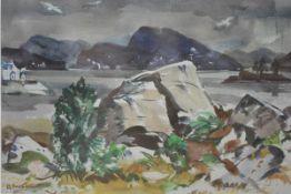 "Adam Bruce Thomson O.B.E., R.S.A., P.P.R.S.W., H.R.S.W., (Scottish, 1885-1976), ""Loch Carron &"