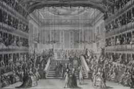 Antonio Baratti after Giovanni Battista Canal, A Reception at the San Benedetto Theatre, Venice, for