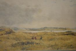 "William Ewart Lockhart R.S.A. (Scottish, 1846-1900), ""St. Andrews Links"", signed and titled lower"