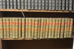 FINE BINDINGS - Thackeray, William Makepeace. The Works, Smith, Elder & Co., 1879, 8vo, 24 vols.,