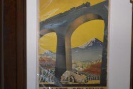 "After Sergey Igumnov (1900-42), ""Soviet Armenia"", a rare USSR travel poster, c. 1935, lithograph/"