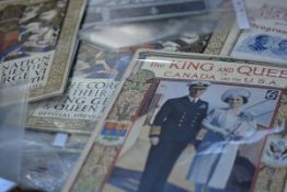A collection of ephemera relating to King George VI and Queen Elizabeth, dating from 1911-1948,