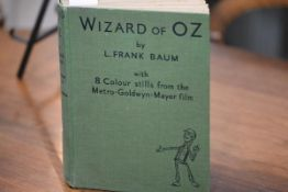 BAUM. (L. Frank) The Wizard of Oz, London, Hutchinson & Co., [1939], 4to, with illustrations by W.W.