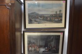After Sir Francis Grant, The Meet at Melton and The Melton Breakfast, a pair of large 19th century