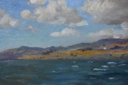 Robert Payton Reid A.R.S.A., S.S.A. (Scottish, 1859-1945), The Kyles of Bute, oil on panel, St.