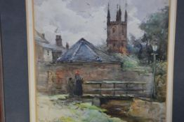 James MacMaster R.S.W., R.B.A. (Scottish, 1856-1913), A Grey Day, Mauchline, signed lower right