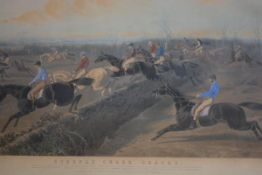 "After J. F. Herring Senior, a large 19th century coloured engraving, ""Fores's National Sports -"