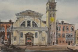 James Miller R.S.A., R.S.W. (Scottish, 1893-1987), San Trovaso, Venice, signed lower left,