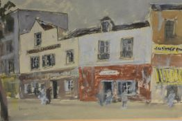 James Miller R.S.A., R.S.W. (Scottish, 1893-1987), A French Street, signed lower left,