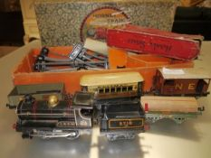 Hornby No. 1 Goods Set including engine, track and rolling stock