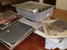 A large quantity of 19thc and early 20thc photograph albums, various subjects, including