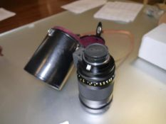 A Nikkor 500mm Reflex-Nikkor 1:8 f=500mm no. 518201 complete with case.