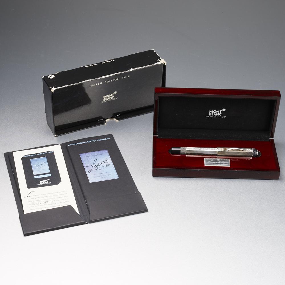 Lot 54 - Montblanc Lorenzo de' Medici Limited Edition Fountain Pen