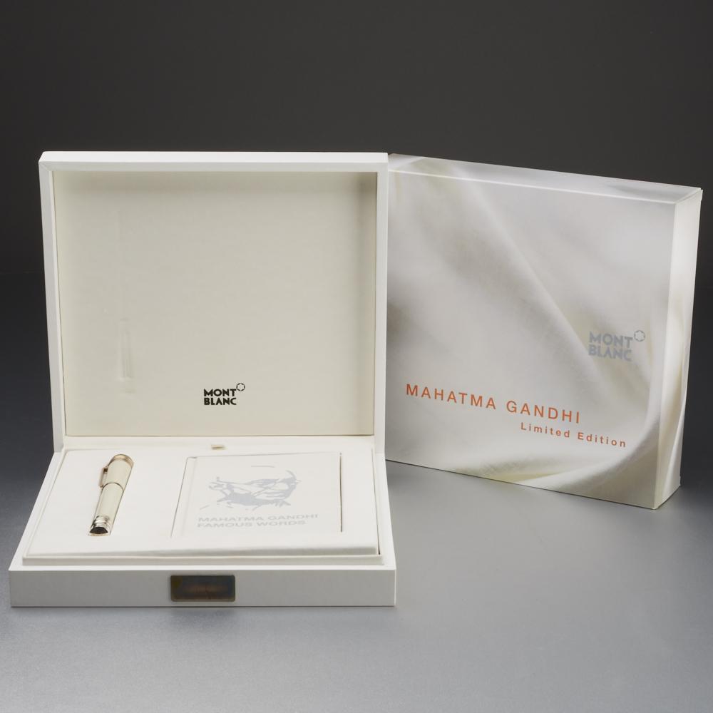 Lot 53 - Montblanc Mahatma Gandhi Limited Edition