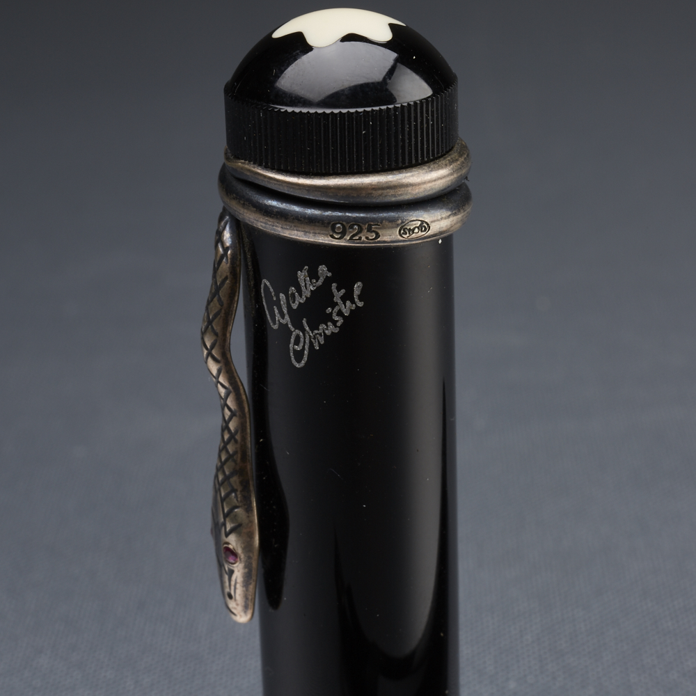 Lot 51 - Montblanc Agatha Christie Limited Edition Fountain Pen