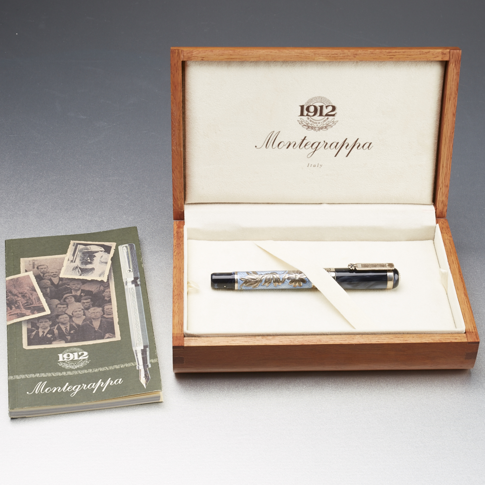 Lot 60 - Montegrappa Science and Nature Fountain Pen