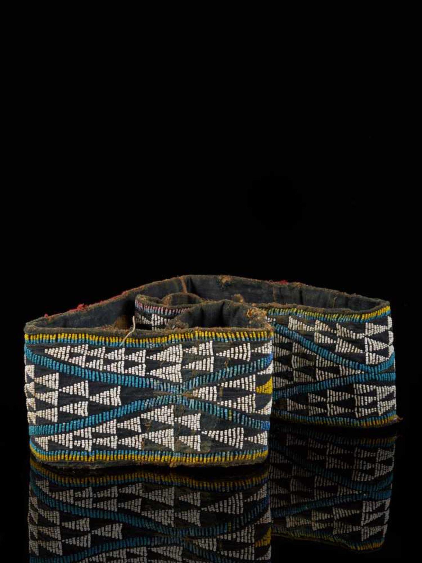 Beaded Double Headed Snake Belt - Tribal ArtThe double headed snake is the symbol of the Bamum - Bild 6 aus 6