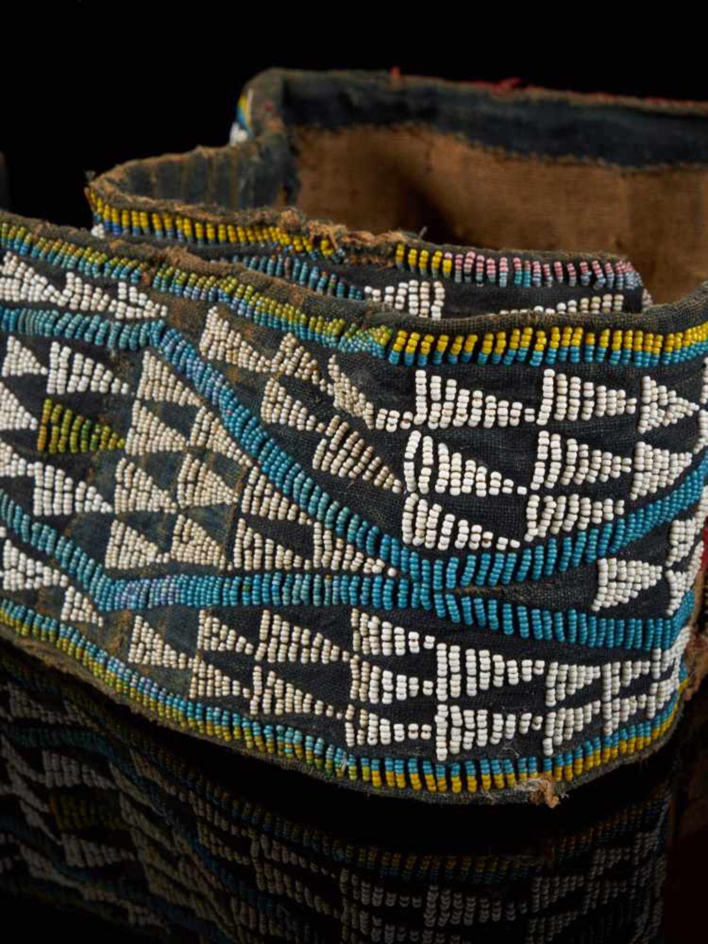 Beaded Double Headed Snake Belt - Tribal ArtThe double headed snake is the symbol of the Bamum - Bild 5 aus 6