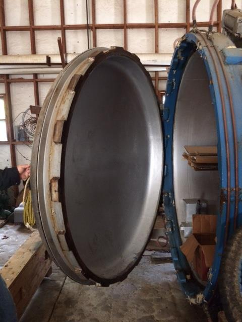 Large Industrial Autoclave Unit – 23 ft. x 70'' – Excellent Condition, Fully Functional