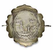 WeinprobierschaleAugsburg, um 1689 - 92, wohl Johannes KilianSilber, Reste von Vergoldung. Schälchen