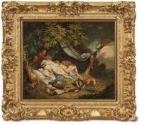 Brueghel, Jan d. J. - Werkstatt bzw. direkte Nachfolge Diana von Satyrn belauscht Antwerpen, um