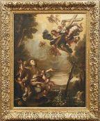 Die Verzückung der heiligen Maria Magdalena Neapolitanische Schule, Anf. 18. Jh. Die von Putten