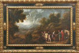 Antolinez y Sarabia, Francisco (Attrib.) Joseph wird von seinen Brüdern an ägyptische Händler