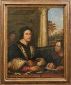Piombo, Sebastiano del - qualitätvolle Kopie des 18. Jahrhunderts Portrait des Diplomaten Ferry