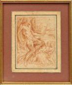Testa, Pietro (Attrib.) Der heilige Hieronymus als Asket (Lucca 1611-1650 Rom) Zu seinen Füßen der