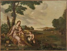 Flämische Schule des 18. Jahrhunderts Zwei Szenen aus dem Leben der Heiligen Familie Die Heilige