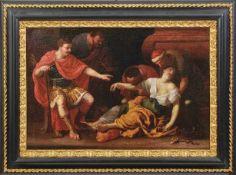 Heiss, Johann Der Tod der Kleopatra (Memmingen 1640-1704 Augsburg) Der links thronende Oktavian