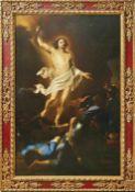 Auferstehung Christi Italienischer Meister des 17. Jahrhunderts Der auferstandene Christus in