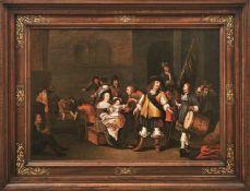 Palamedesz., Anthonie, gen. Stevers Interieur mit eleganter Gesellschaft (Delft 1601-1673 Amsterdam)