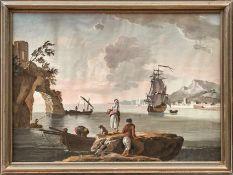 Lacroix, Charles François Grenier de (gen. de Marseille) - Nachfolger Mediterrane Küstenlandschaft