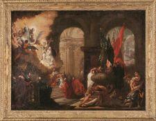 Bellucci, Antonio Die Bitte des Dogen Nicolò Contarini an Lorenzo Giustiniani (Pieve di Soligo
