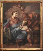 Balestra, Antonio Heilige Familie (Verona 1660-1740 ebd.) Öl/Lwd. 155,5 x 128,5 cm. - Mattia Vinco