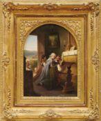 Dielmann, Jakob FürchtegottDrei Mädchen beim Gebet in der Kapelle(Frankfurt am Main 1809-1885