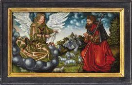 Cranach, Lucas der Ältere - WerkstattVerkündigung an Joachim(Kronach 1472-1553 Weimar) Öl/Holz,