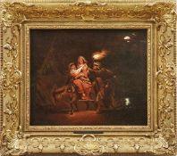 Seekatz, Johann Conrad (Attrib.)Die Heilige Familie auf der Flucht nach Ägypten(Grünstadt 1719-