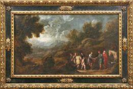 Antolinez y Sarabia, Francisco (Attrib.)Joseph wird von seinen Brüdern an ägyptische Händler