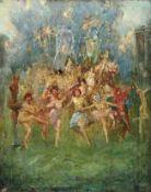 BacchantenfestEnglischer Symbolist des späten 19. JahrhundertsÖl/Lwd. 51 x 40,5 cm; ungerahmt.