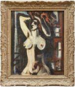 Bálint, EndreWeiblicher Akt(Budapest 1914-1986 ebd.) Öl/Lwd. Rechts unten und verso sign. 60,5 x