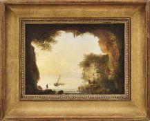 Reinhart, Johann Christian - Umkreis desItalienische Landschaft(Hof 1761-1847 Rom) Blick aus einer