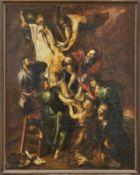 Rubens, Peter Paul - meisterliche Kopie des 18. JahrhundertsKreuzabnahmeÖl/Lwd., auf Hartfaserplatte