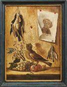 Treu, Marquard (Attrib.)Zwei Quodlibet-Stillleben(Bamberg 1713-1796 ebd.) Trompe-l'oil auf